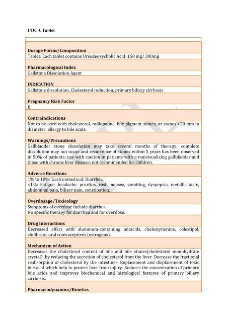 udca 150 tablet - Lomus Pharmaceuticals Pvt  Ltd