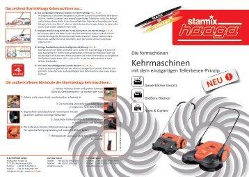 Kehrmaschinen - Starmix