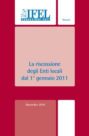 La riscossione degli Enti locali.pdf - ANCI Piemonte