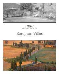 European Villas - Luxury Territory