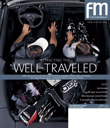 attracting the well traveled - Orlando Chamber of Commerce