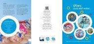 Just Add Water leaflet (800 KB PDF) Opens in a new window