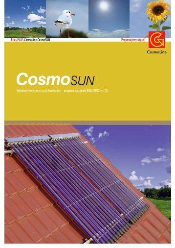 Kolektor s∏oneczny CosmoSUN Select dane techniczne
