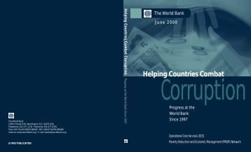 Helping Countries Combat Corruption - World Bank
