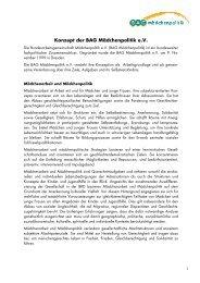 Konzept der BAG Mädchenpolitik e.V. - Bundesarbeitsgemeinschaft ...