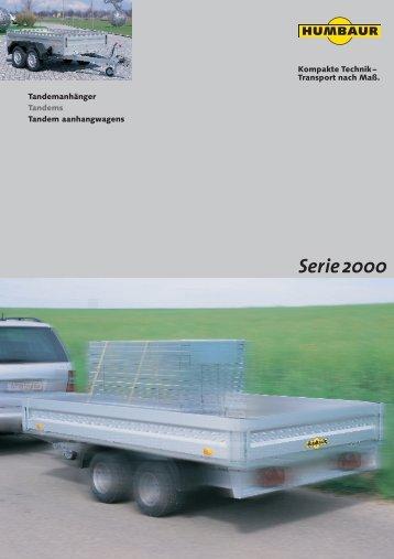 Serie2000 - Wenk Fust