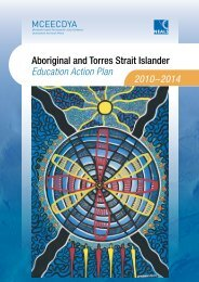 Aboriginal and Torres Strait Islander Education Action Plan 2010-2014