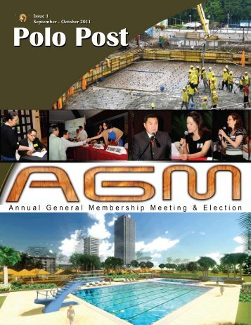 Annual General Membership Meeting & Election - Manila Polo Club