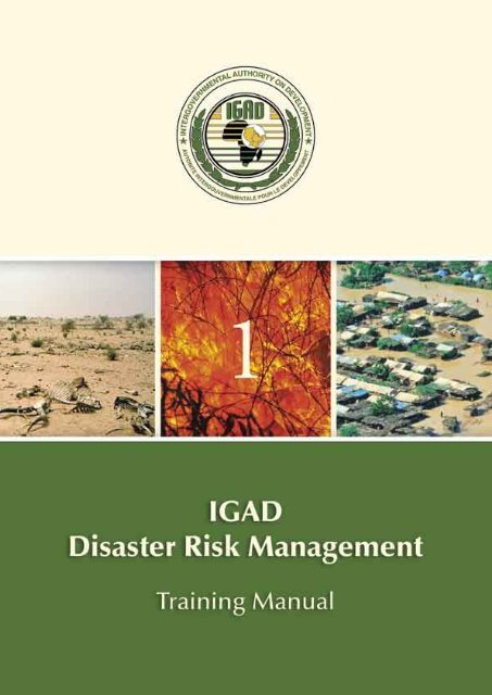 1-DRM Training Manual pdf - Disaster risk reduction