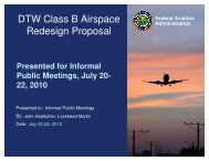 DTW Class B Airspace Redesign Proposal - LocalHangar.com