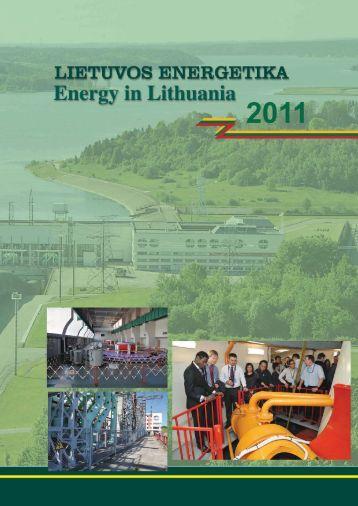 Lietuvos energetika 2011 - Lietuvos energetikos institutas