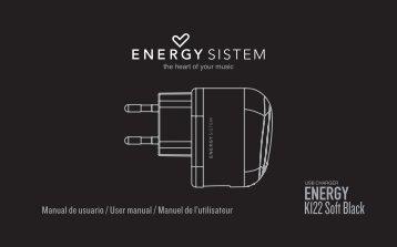 Manual de usuario / User manual / Manuel de l ... - Energy Sistem