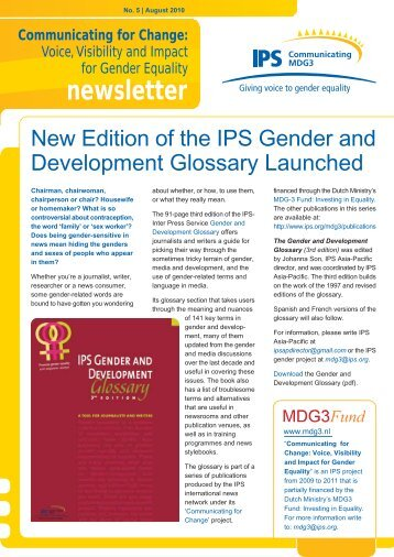 newsletter - IPS Inter Press Service