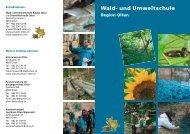 Flyer (PDF 169 kB) - bei der Umweltfachstelle Olten