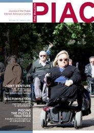 PIAC Bulletin - Public Interest Advocacy Centre