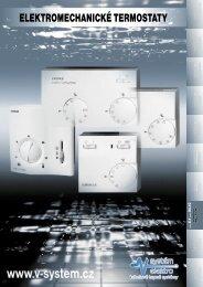 Prospekt elektromechanických termostatů - MaT Elektra