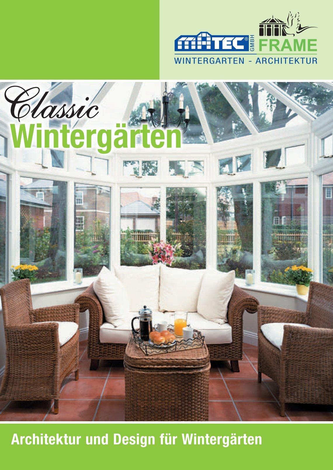 Wintergarten Ahaus 2 free magazines from matec ahaus de