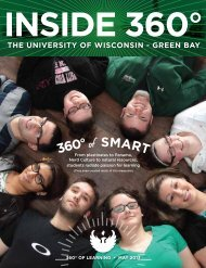 360° of SMART - University of Wisconsin - Green Bay