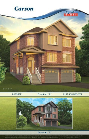 Carson - Pratt New Homes Innisfil