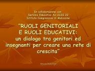 Ruoli educativi - Ic Malcesine - News