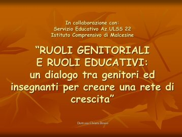 Ruoli educativi - Ic Malcesine - News