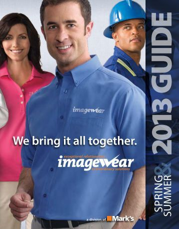 Download a PDF version - Imagewear