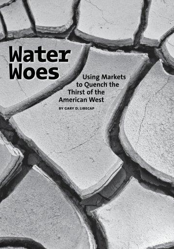 Water Woes - Milken Institute
