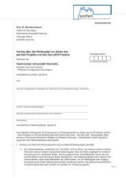 Vertrag über die Weitergabe von Daten des pairfam-Projekts und ...