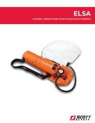 appareil respiratoire pour évacuation d'urgence - Scott Safety