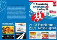 Fischlhamer Mostkruglauf 21.03. 2009 - Up-to-date