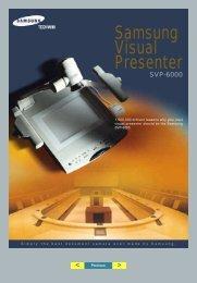 Samsung Visual Presenter - Acuson