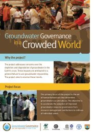 Groundwater Governance