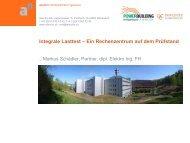 Integrale Lasttest – Ein Rechenzentrum auf dem ... - PowerBuilding