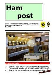 """Auf kurzen und langen Wellen"" HB9AU in Beringen ... - QSLNET.de"