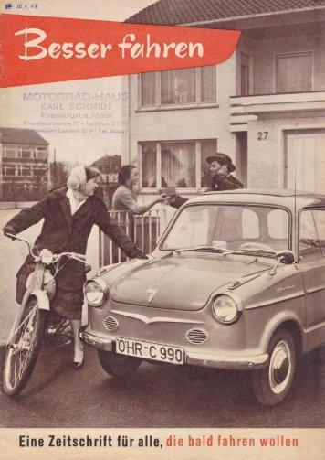 besser fahren - NSU-Motorrad-Oldtimer