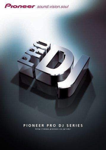 PIONEER PRO DJ SERIES