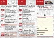 10. März 11. März Anmeldung - Messtec & Sensor Masters