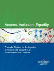 Access. Inclusion. Equality. - Department of Advanced Education ...
