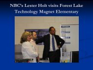 NBC at Forest Lake - Richland School District Two!