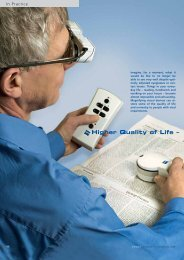Higher Quality of Life –