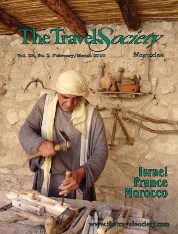 Vol. 28 No. 2 February-March 2010 – France - The Travel Society