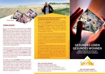 GESUNDES LEBEN GESUNDES WOHNEN - Baubiologie Geppert
