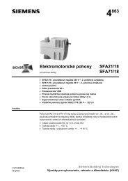 4863 Elektromotorické pohony SFA21/18 SFA71/18