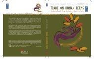 Trade on human terms - Arab Human Development Reports