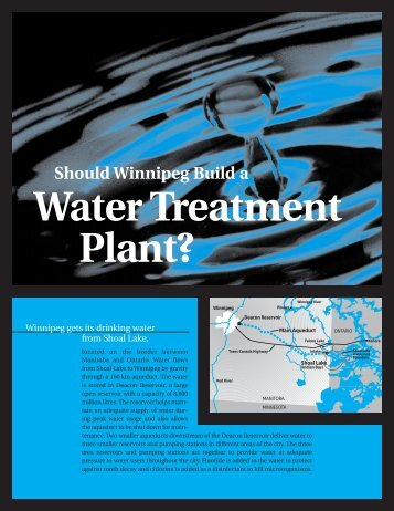 Should Winnipeg Build a Water Treatment Plant? - City of Winnipeg