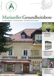 Mariazeller-Gesundheitsbote-Fruehjahr-2013 - Mariazellerland Blog
