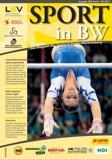 Ausgabe BSB Nord – 05 - Badischer Sportbund Nord eV
