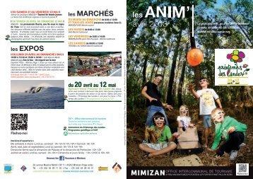 flyer Avril 2013.indd - Office intercommunal de Tourisme de Mimizan