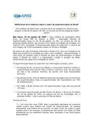 APAS lança livro histórico sobre o setor de supermercados no Brasil