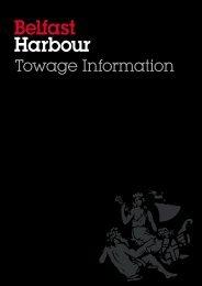 Towage Information - Belfast Harbour
